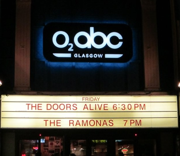 The Ramonas - Glasgow - O2 ABC