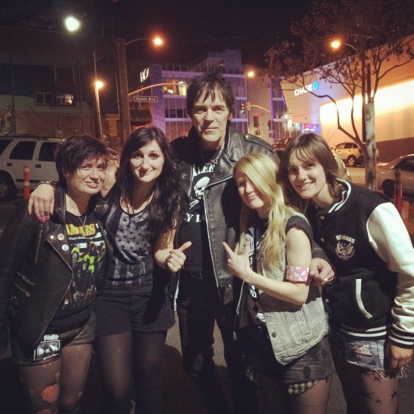The Ramonas With Richie Ramone