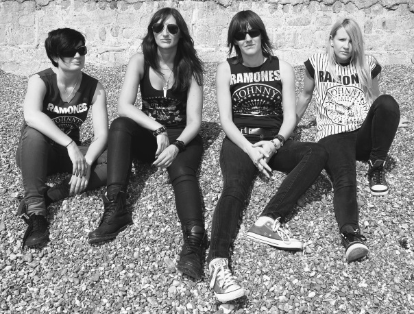 The Ramonas - UK's Original All Girl Tribute to Ramones