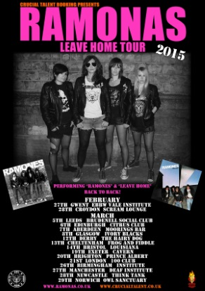 The Ramonas Tour Dates